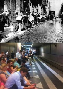 though then and now
